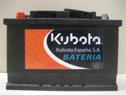 Battery 75 Ah.
