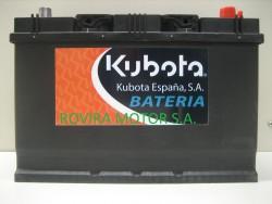 Battery 95 Ah.
