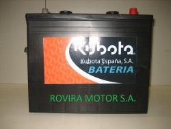 Bateria 165 Ah.