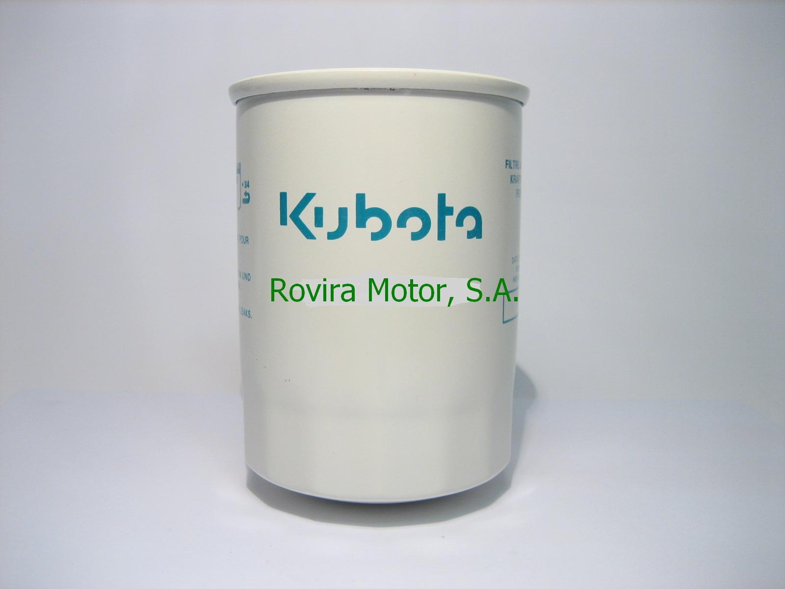 Fuel Filter Rovira Motor Sa Kubota Filters