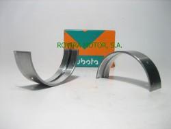 Metal crankshaft