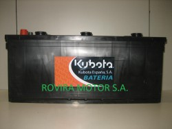 Battery 125 Ah.